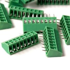 5PCS 2.54mm 8-Pin Plug-in Screw Terminal Block Connector Panel PCB Mount MA