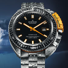 NIB Edox Hydro-Sub Automatic Diving Watch, Best Diver Under $2000 (10+ Pics)