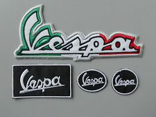 VESPA KIT N.4 PATCH TOPPE RICAMATE TERMOADESIVE