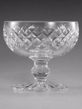 WATERFORD Crystal - BOYNE Cut - Low Champagne Glass / Glasses - 3 1/2""
