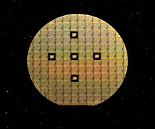 "Ultra Rare 2"" Silicon Wafer - MOS Technology 2050 256bit SRAM circa 1970"