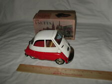 Vintage 1950s Japan Isetta B-588 Tin Litho Friction Car Ex./Near Mint Boxed