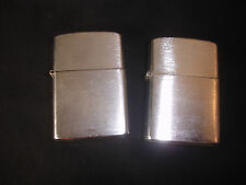 2 Old Vtg Antique Collectible MONACO Cigarette Lighters Made In Japan