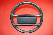 Porsche 911 930 964 Carrera Classic Steering Wheel 4 Spoke Blue Leather OEM