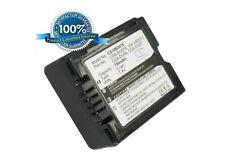7.4V battery for Panasonic NV-GS33EG-S, VDR-D300EG-S, PV-GS39, VDR-D160EG-S, NV-