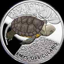 Poland Turtle カメ черепаха 龟 Mintage only 199pcs VERY RARE Color