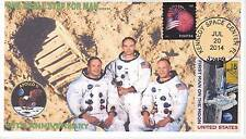JVC CACHETS - 45TH ANNIV OF THE MOON LANDING BY APOLLO 11 SPACE TOPICAL FDC #2