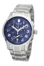 Victorinox Swiss Army Men's 241310 Alliance Chronograph Blue Dial Watch