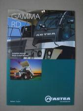 ASTRA  Gamme  RD  Dumptrucks / Muldenkipper   catalogue / brochure / Prospekt  2