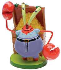SPONGEBOB SHOW MR. KRABS AQUARIUM DECORATION ORNAMENT.