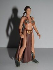 "STAR WARS  Princess Leia  Slave Girl Costume  3.75"" Toy Figure"