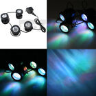 25W 200MA 4 LED Ponds Light Set For Underwater Fountain Water Garden Landscapes
