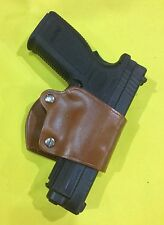 Leather YAQUI Style Holster -  SPRINGFIELD XD  (#049 BRN)