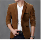 New Fashion Men's Slim Fit Stylish Casual One Button Suits Coat Jacket Blazers