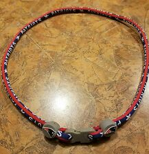 New england patriots rope necklace officialy licensed!