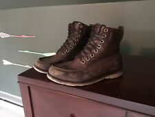 Timberland Earthkeeper Moc Toe Mens Boots size 9.5