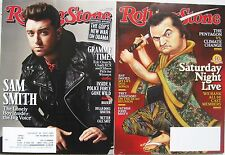 Rolling Stone Magazine lot 4 issues Jan 29 Feb 12 Feb 26 2015 Dec 4 2014 SNL