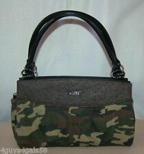 Miche Classic Purse SHELL ONLY Fits Classic Bag STEPHANIE Green Brown Camoflage