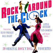ROCK AROUND THE CLOCK 30 ORIGINAL ROCK AND ROLL FAVOURITES CD * VERY GOOD *