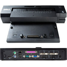 Dell E-Port Plus Dock Station Replicator PR02X E5570 E6430 E6440 E7240 E7250