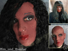 DIVA AFRICA MASK -Real. Female Latex Frauenmaske Crossdresser Transgender Rubber