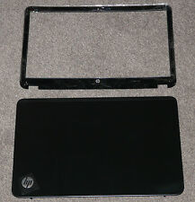 BRAND NEW GENUINE HP ENVY 6-1012 6-1100 6-1126 SLEEKBOOK LCD LID COVER BEZEL SET
