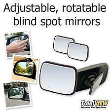 Total View Adjustable Concave Blind Spot Mirror For Car Vehicles Set of Two