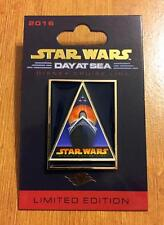 Star Wars Day at Sea #2 Pin, Disney Cruise Vintage Ship Triangle Poster LE 3000