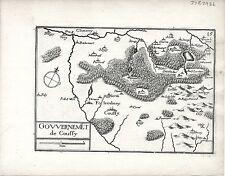 Antico mappe, gouvernement DE coussy