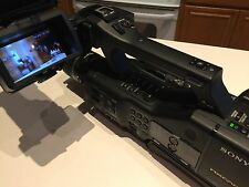 Sony NEX 50 UH Camera Camcorder plus Lenses and Extras