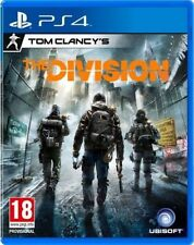 TOM CLANCY'S THE DIVISION PS4 GAME USED IN GOOD CONDITION