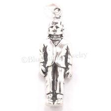 Sterling Silver 925 FRANKENSTEIN HALLOWEEN Pendant FRANKENSTEIN'S Monster Charm