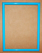 "9""x12"" Aqua Teal Blue Green Thin Mold Picture Photo Frame Stock Crafting Project"