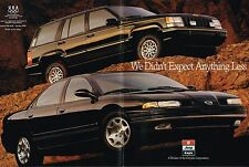 1993 Jeep GRAND CHEROKEE Limited / Laredo / Eagle VISION TSi Brochure/Catalog