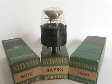 One +/-1950 Sylvania 6AF6G 'Eye' tube - New Old Stock / New In Box