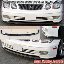 TTE Style Front Lip (Urethane) Fits 98-05 Lexus GS300 GS400 GS430