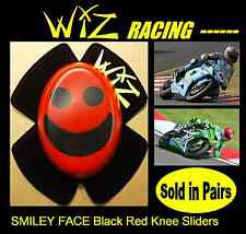WIZ KNEE SLIDER SMILEY Viso Nero Rosso