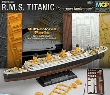 [NEW] 1/700 Multi-Colored Parts R.M.S TITANIC  / ACADEMY MODEL KIT