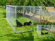 Dog Training Kennel Exercise Play Pen Pet Cage Den Barrier Fence Wire Gate Firm