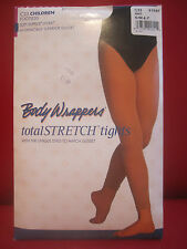 Body Wrappers C33 Children Small/Medium 4-7 White Footless Tights Dance Ballet