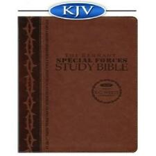 Remnant Study Bible KJV (Special Forces Brown)