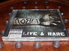 Korn : Live & Rare (2006) Cd ..... New