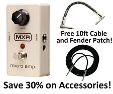New MXR M133 Micro Amp Boost Guitar Effects Pedal! Free Extras!