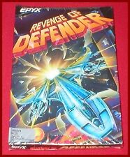Revenge of Defender for the Commodore 64 128 Computer NEW SEALED