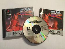 PS1 PLAYSTATION 1 PSone Juego Street Fighter EX Plus a + Caja Instrucciones Completo