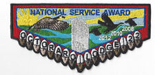 OA Lodge 22 Octoraro S Flap National Service Award Chester County (Y238)