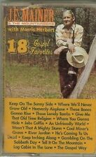 J.E. MAINER & THE MOUNTAINEERS - 18 GOSPEL FAVORITES - CASSETTE - NEW - SEALED
