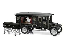 Precision Collection 1:18 1921 Ford Model T Ornate Carved Hearse, back