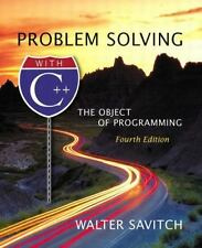 Problem Solving with C++: The Object of Programming, Savitch, Walter 0321113470