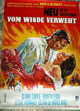 VOM WINDE VERWEHT / GONE WITH THE WIND * A1-FILMPOSTER WA - Gefaltet  R´72 GABLE
